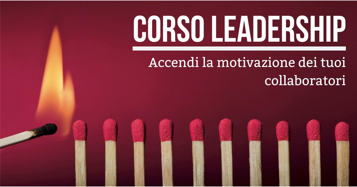 Corso Leadership - Venezia, 6 e 7 Maggio 2020