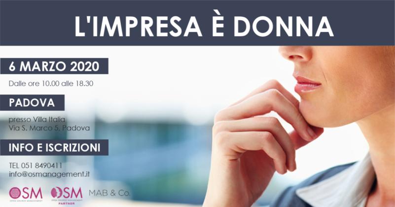 Impresa è Donna - Padova, 26 Maggio 2020