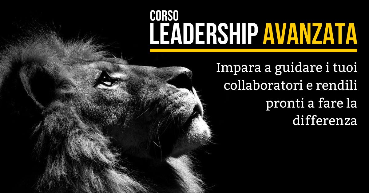 Corso Leadership Avanzata - Venezia, 8 e 9 Settembre 2020