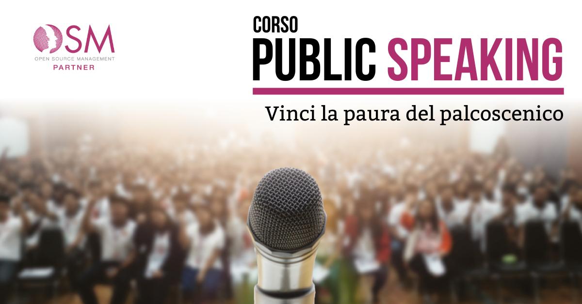 Corso Public Speaking - Venezia, 18 e 19 Maggio 2020