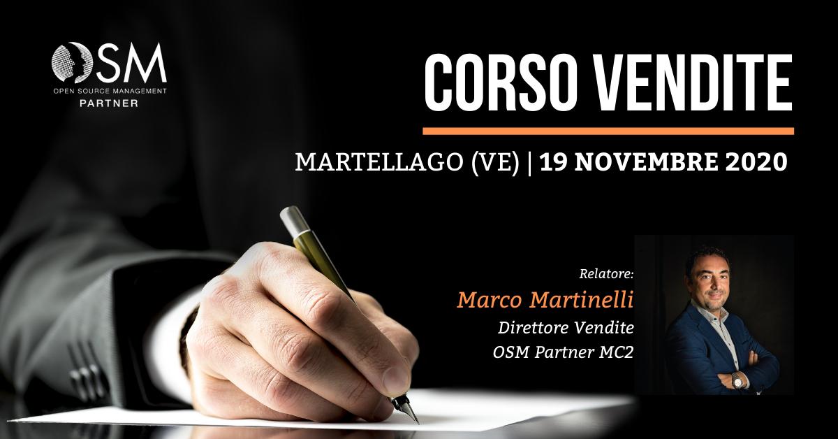 Corso Vendite - Martellago, 19 Novembre 2020